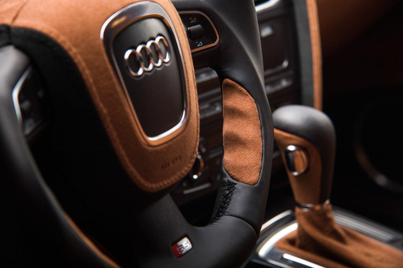 Custom Audi S5 Interior Стефан Солаков фотография