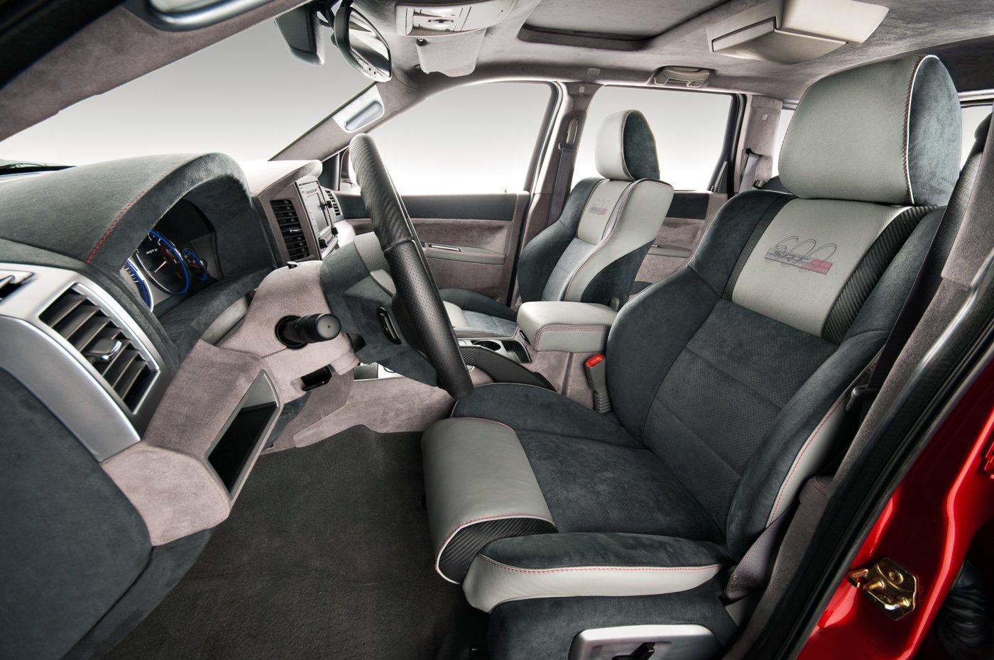 Jeep grand cherokee with custom interior - 2010 jeep grand cherokee interior ...