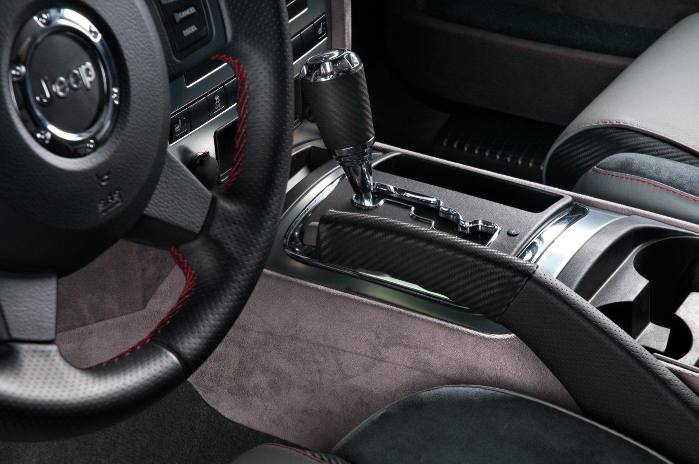 Jeep Grand Cherokee With Custom Interior